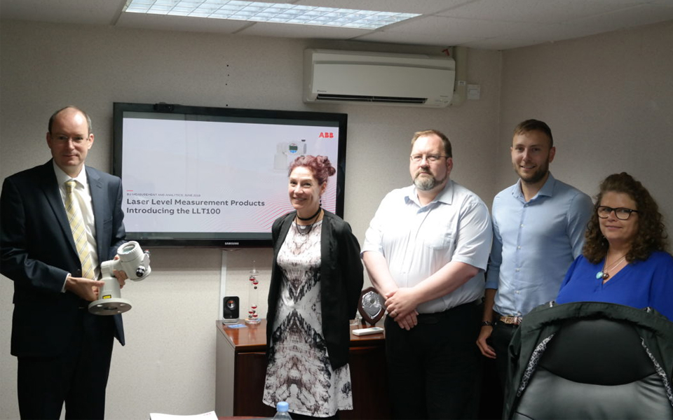 Laser Level Training Tour of UK & Ireland Channel Partners