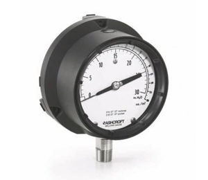 Ashcroft 1187 Low Pressure Bellows Gauge