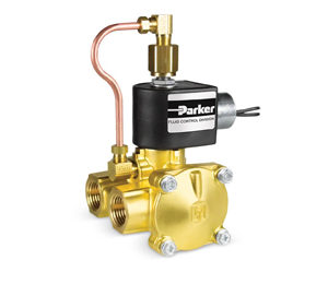Parker 3 Way Valves - Fluids & Air