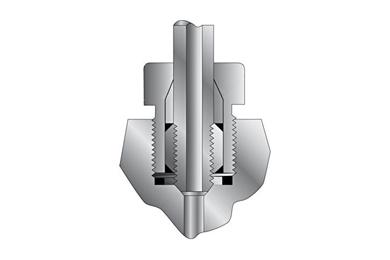 Parker High Pressure Anti-Vibration Collet Gland Assembly