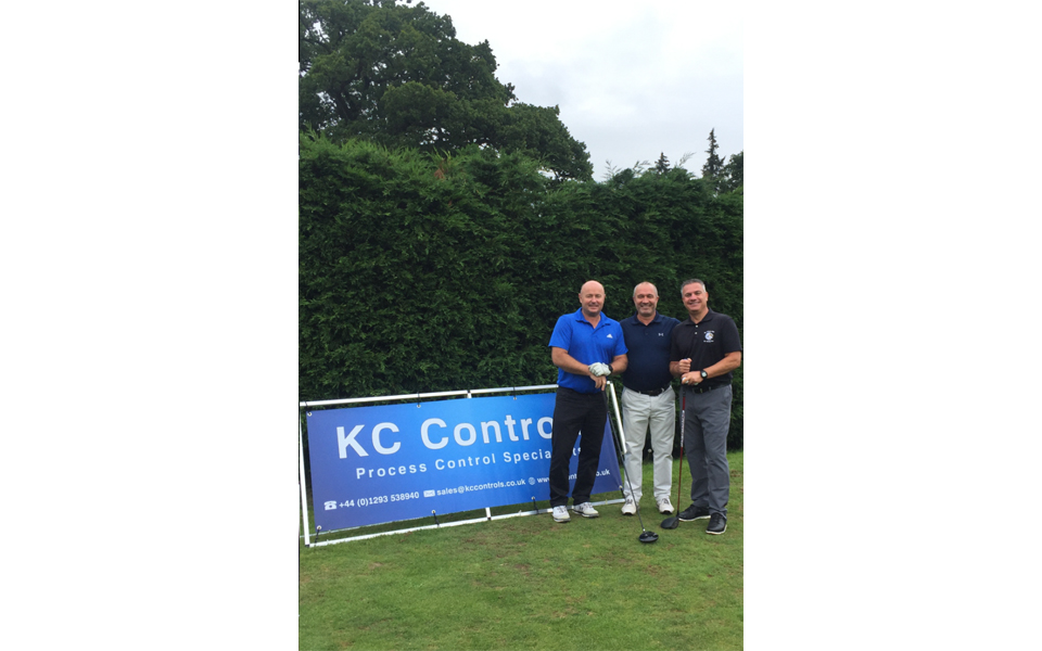 KC take part in the Innovation Fire & Security's Golf day