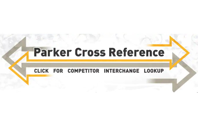 PARKER CROSS REFERENCE & COMPETITOR INTERCHANGE