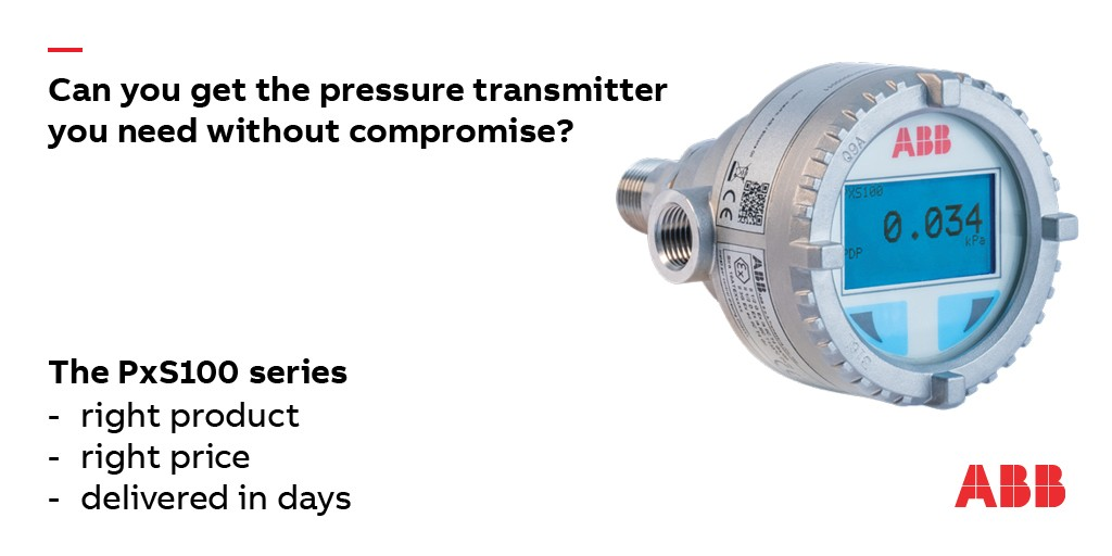 Taking the pressure out of pressure transmitter selection